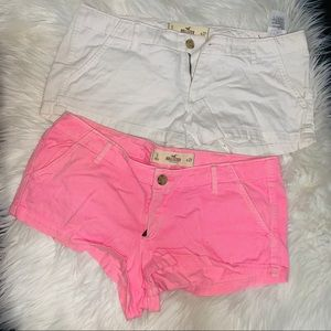 Hollister x2 Shorts size5